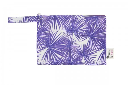 Purple Palm Leaves